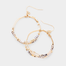 Everly Hoop Earring