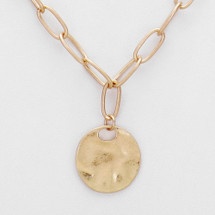 Coin Pre-Layer Necklace