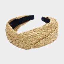 Rafia Woven Headband