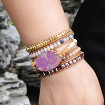 Bohemian Summer Wrap Bracelet