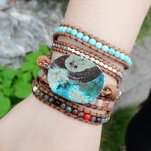 Summer Afternoon Wrap Bracelet