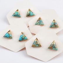 Tiny Turquoise Studs