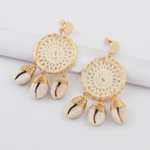 Bermuda Earrings -Ivory