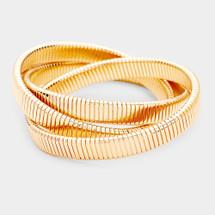 Pre-layer Bracelet: Gold Or Silver