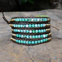 Midsummer Night's Wrap Bracelet