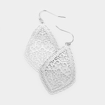 Morocco Silver Earrings