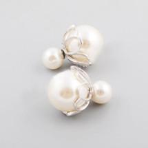 Double Pearl Ear Jackets