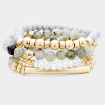 Summer Stones Bracelet Set