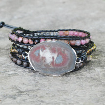 Twilight Leather Wrap Bracelet
