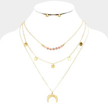 Honey Pre-Layer Necklace