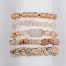 Desert Skies Semi-Precious Stone Bracelet Set