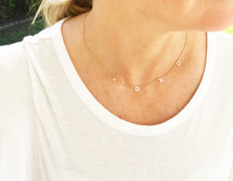 XOXO Necklace: Gold Or Silver