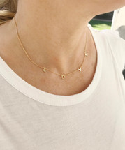 L-O-V-E Necklace: Gold Or Silver