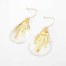 Athena Mother-Of-Pearl Earrings