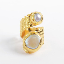 Midas Pearl Ring