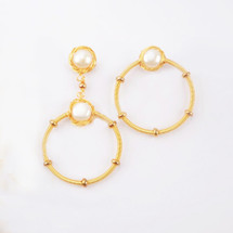 Soho Pearl Earring Set