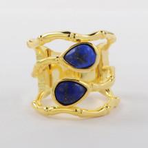 Equinox Ring: Lapis Lazuli