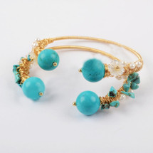 Turquoise Lovers Bracelet Set