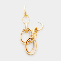 Audriana Earrings: Gold Or Silver