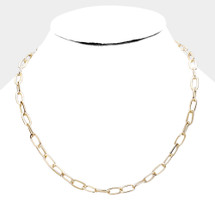 Classic Chain Link Necklace