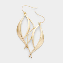 All The Waves Earrings: Gold Or Silver