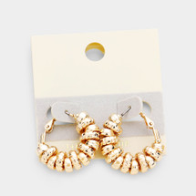 Gold Filled Circles Hoop Earrings
