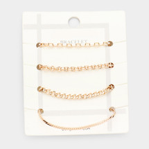 Golden Hues Bracelet Set