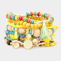Lemonade Bracelet Stack/Set