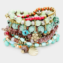Bohemian Dreams Bracelet Stack