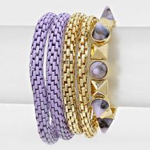 Lavender Dreams Bracelet Set