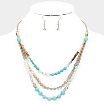 Turquoise All Day Necklace
