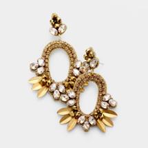 Golden Lights Earrings