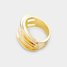 Woven Ring: Gold OR Silver