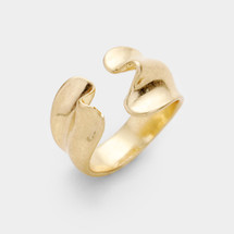 Double Wave Ring