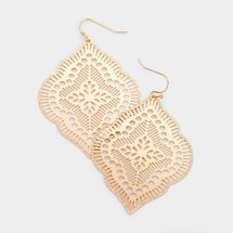 Moroccan Days Earrings: Gold Or Silver