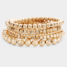 Golden Hour Bracelet Stack