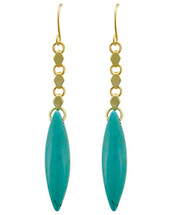 Blue Lagoon Natural Turquoise Earrings
