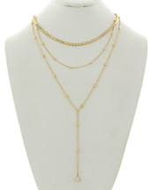 So Golden Layered Necklace
