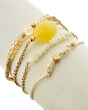 Golden Sands Bracelet Set