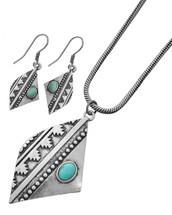 Wild West Necklace+ Earring Set