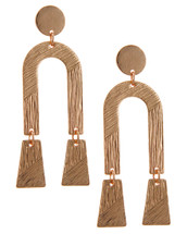Out West Earrings: Rose Or Silver