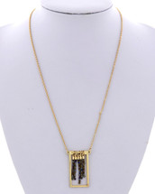 Rectangle Bars Necklace