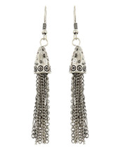 Cone Chains Drop Earrings