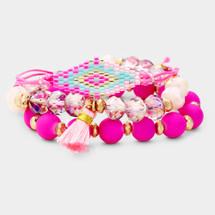 Pink Paradise Bracelet Set
