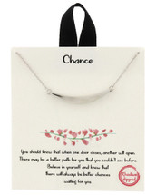 Gold Dipped Take A Chance Necklace: Gold Or Silver