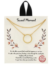 Gold Dipped Sweet Moments Necklace