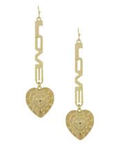 Heart Love Earrings: Gold Or Silver