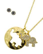 Elephant Cut Out Necklace