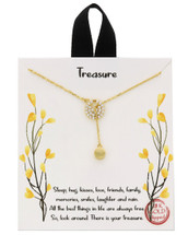Things To Treasure Necklace: Gold OR Silver