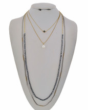 Aria Long Necklace